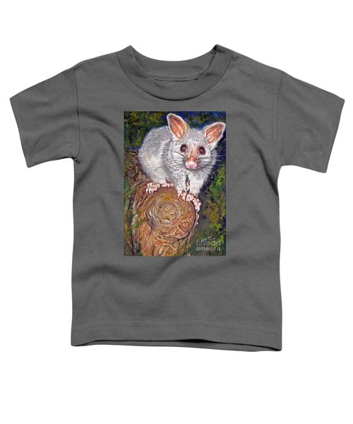 Curious Possum  Toddler T-Shirt