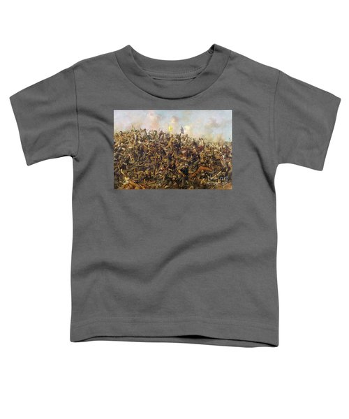 Custer's Last Stand From The Battle Of Little Bighorn Toddler T-Shirt