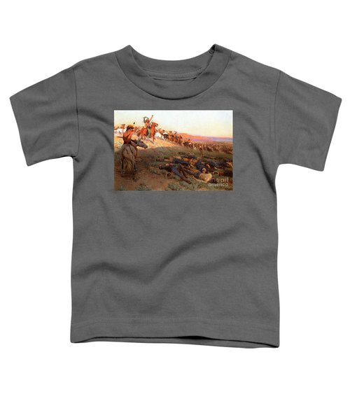 Custer's Last Stand Toddler T-Shirt