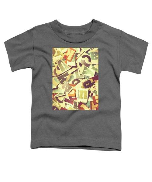 Cut Copy Toddler T-Shirt