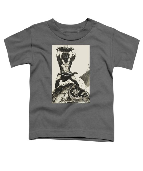 Cyclops Toddler T-Shirt by Angus McBride