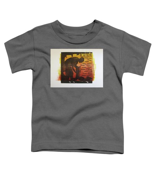 D U Rounds Project, Print 18 Toddler T-Shirt
