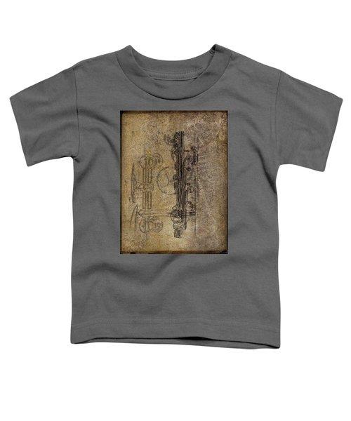 Dads Clarinet Toddler T-Shirt