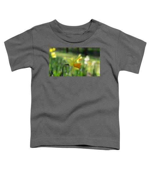 Daffodil Side Profile Toddler T-Shirt