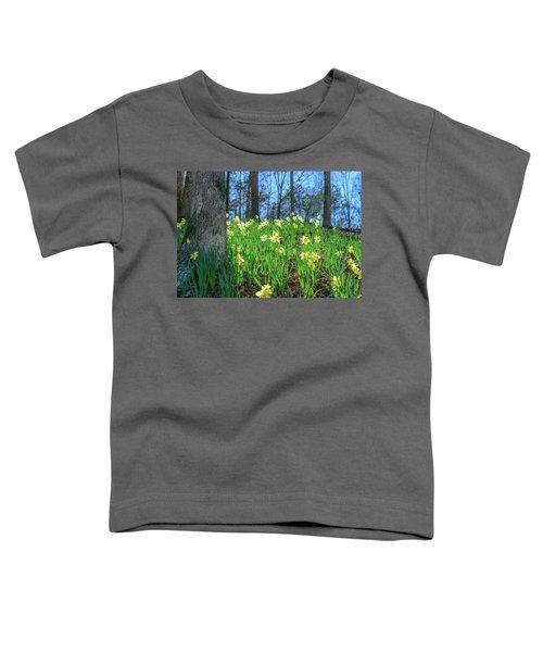 Daffodils On Hillside 2 Toddler T-Shirt