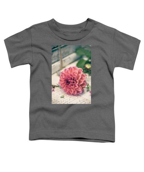Dahlia Bloom Toddler T-Shirt