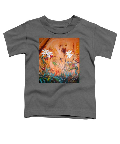 Daisies Along The Fence Toddler T-Shirt