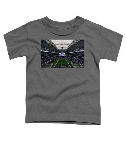 Dallas Cowboys Stadium End Zone Toddler T-Shirt
