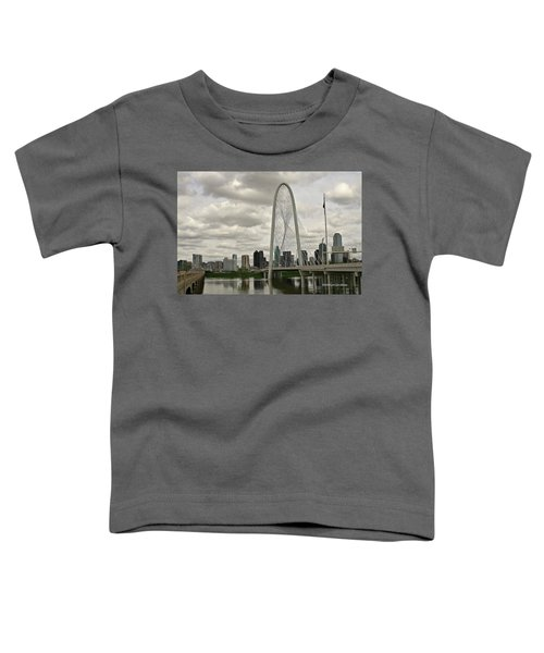 Dallas Suspension Bridge Toddler T-Shirt