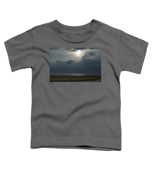 Dambusters Training Over The Wash Toddler T-Shirt
