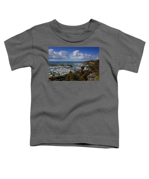 Dana Point Harbor California Toddler T-Shirt
