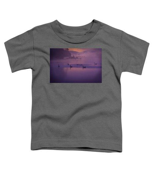 Dancing Geese Toddler T-Shirt