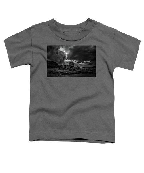 Dark Clouds Bw #h2 Toddler T-Shirt
