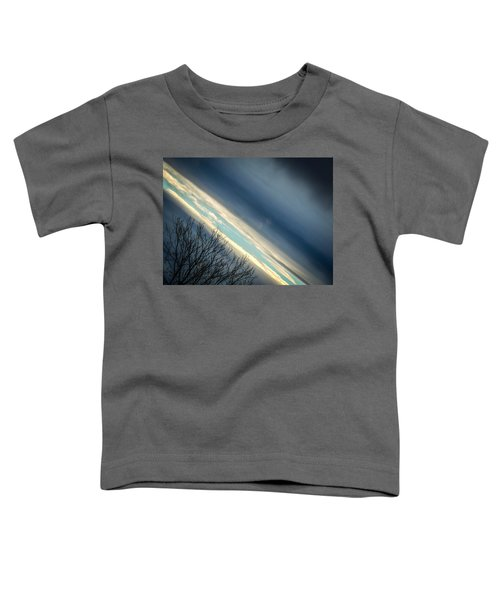 Dark Clouds Parting Toddler T-Shirt