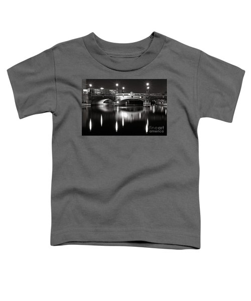 Dark Nocturnal Sound Of Silence Toddler T-Shirt
