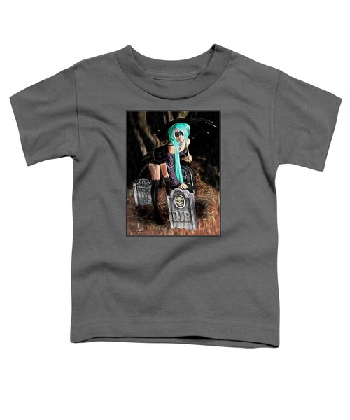 Dark Rain Toddler T-Shirt