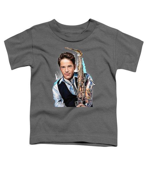 Dave Koz Toddler T-Shirt by Melanie D