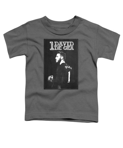 David De Gea Toddler T-Shirt by Semih Yurdabak