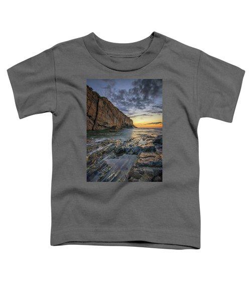 Dawn At Bald Head Cliff Toddler T-Shirt