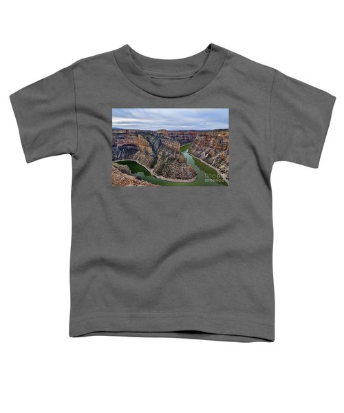 Dawn At Devils Overlook Bighorn Canyon Toddler T-Shirt