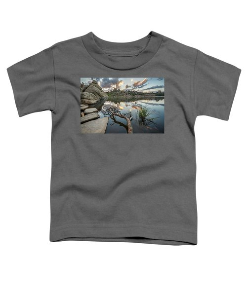 Toddler T-Shirt featuring the photograph Dawn At Sylvan Lake by Adam Romanowicz