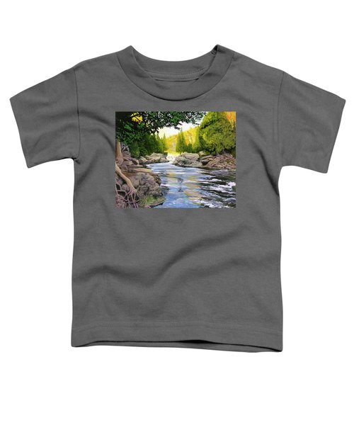 Dawn On The River Toddler T-Shirt