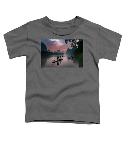 Waiting For Sunrise On Lee River. Toddler T-Shirt