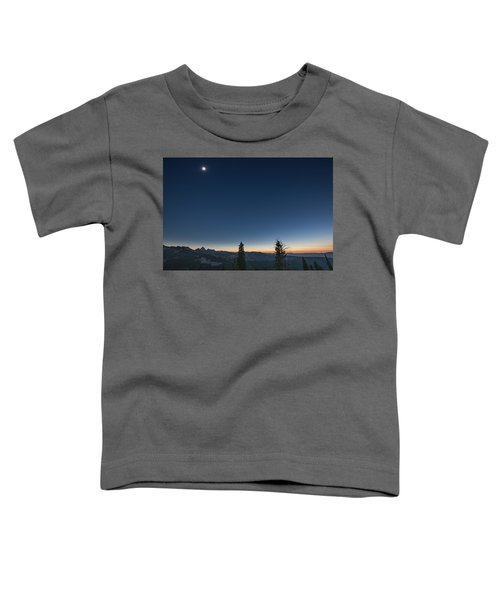Day Becomes Night Toddler T-Shirt