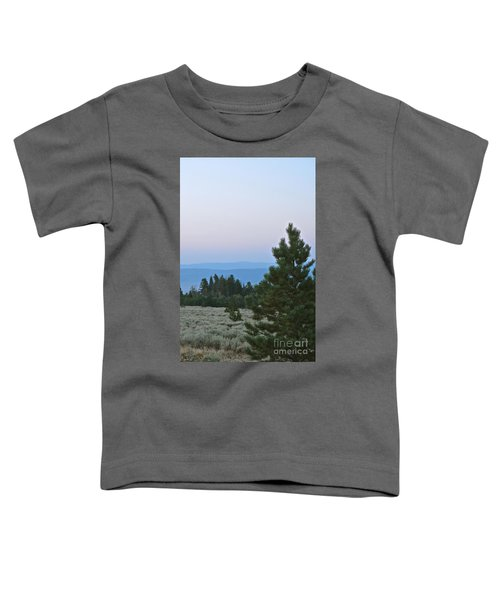 Daybreak On The Mountain Toddler T-Shirt