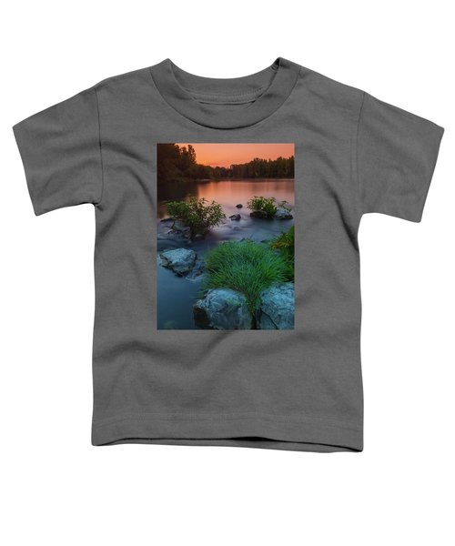 Daybreak Over The Old Riverbed Toddler T-Shirt