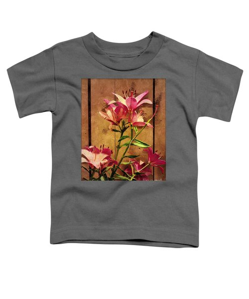 Dayliliys In  Guilford , Conn Toddler T-Shirt