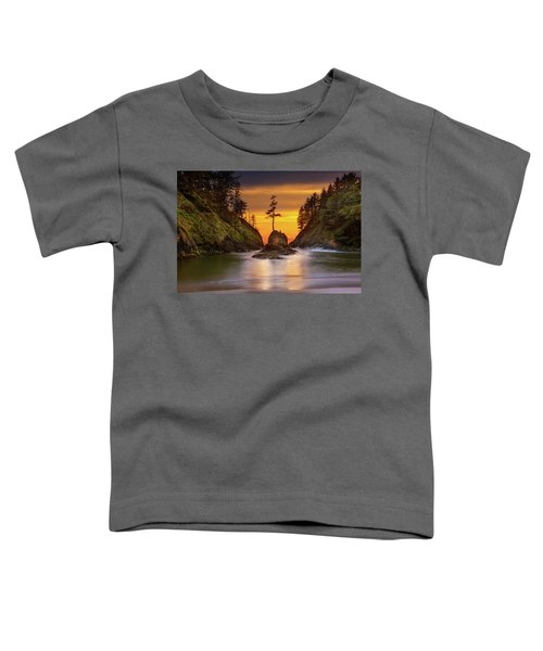 Deadman's Cove At Cape Disappointment State Park Toddler T-Shirt