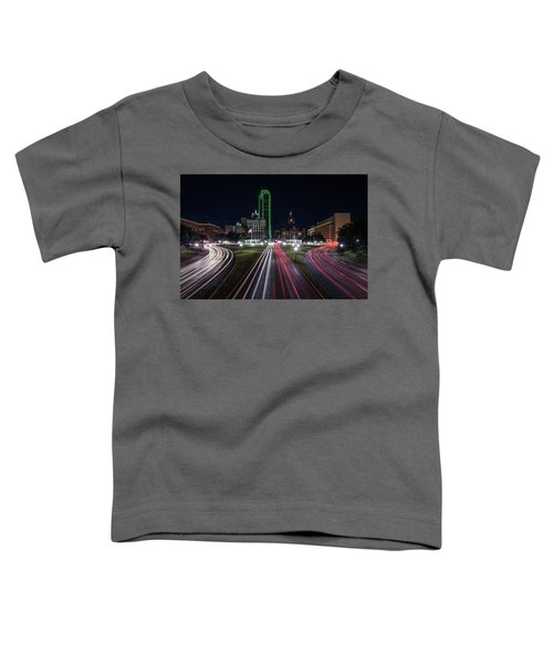 Dealey Plaza Dallas At Night Toddler T-Shirt