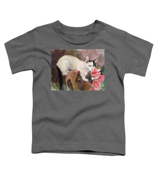 Deano In The Roses Toddler T-Shirt