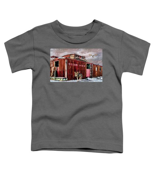 Death Of A Caboose  Toddler T-Shirt