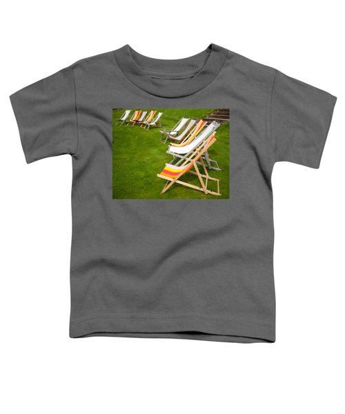 Deck Chairs Toddler T-Shirt