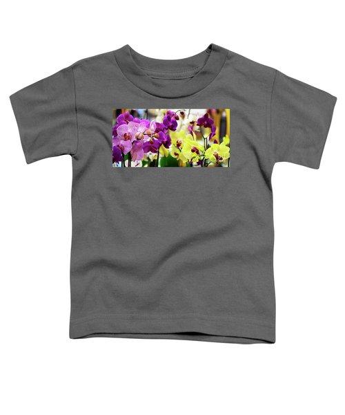 Decorative Orchids Still Life B82418 Toddler T-Shirt