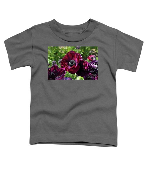 Deep Ranunculus Toddler T-Shirt
