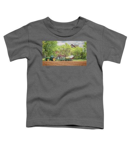 Deere On The Farm Toddler T-Shirt