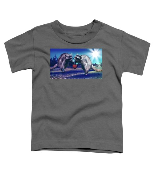 Defense Toddler T-Shirt by Jonny Lindner
