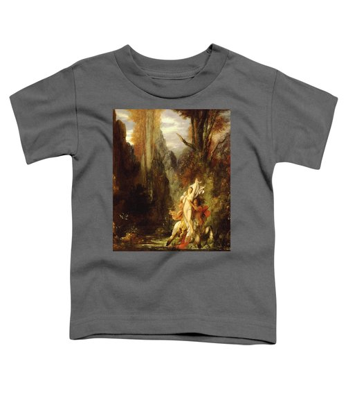 Dejanira  Autumn Toddler T-Shirt by Gustave Moreau