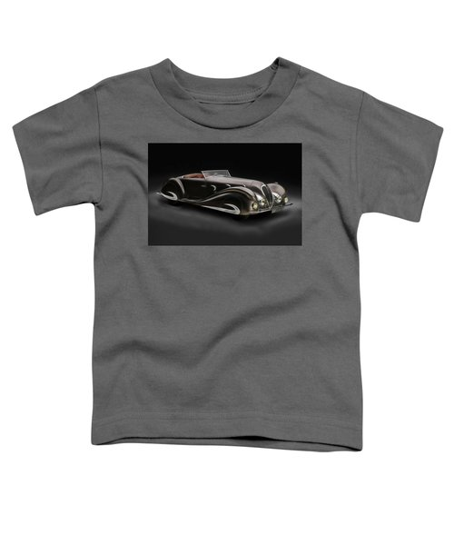 Toddler T-Shirt featuring the digital art Delahaye 1930's Art In Motion by Marvin Blaine