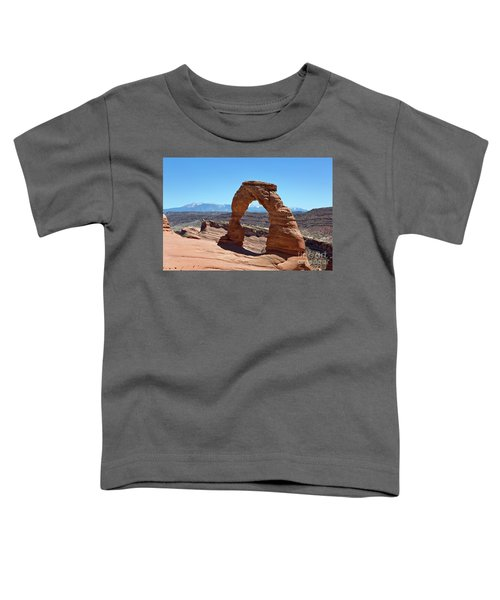 Delicate Arch Arches National Park Toddler T-Shirt