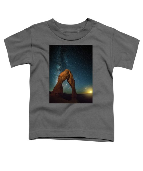 Delicate Arch Moonset Toddler T-Shirt