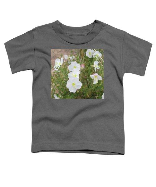 Delicate Desert Bloom - Death Valley Toddler T-Shirt