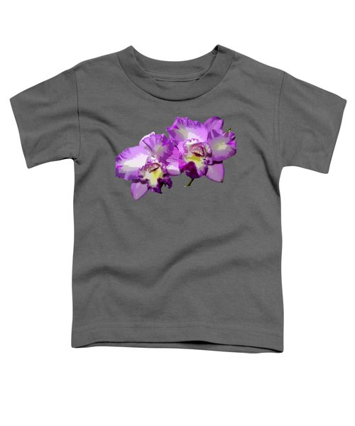 Delicate Purple Orchids Toddler T-Shirt