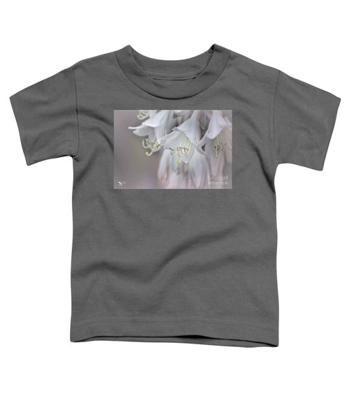 Delicate White Flowers Toddler T-Shirt