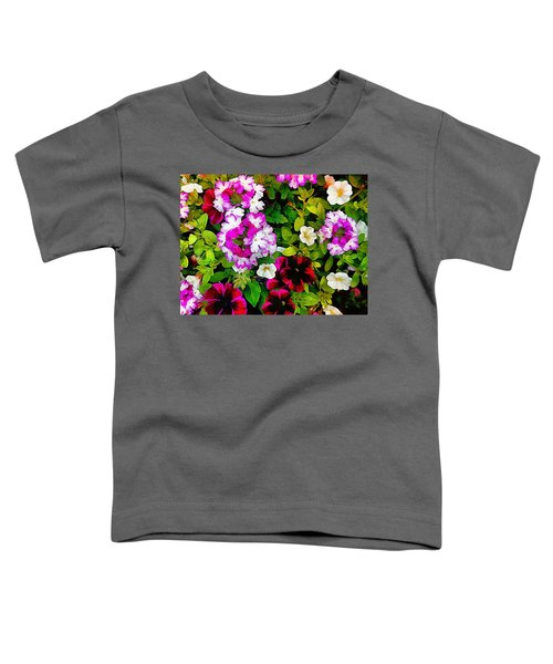 Delicious Floral Foray Toddler T-Shirt
