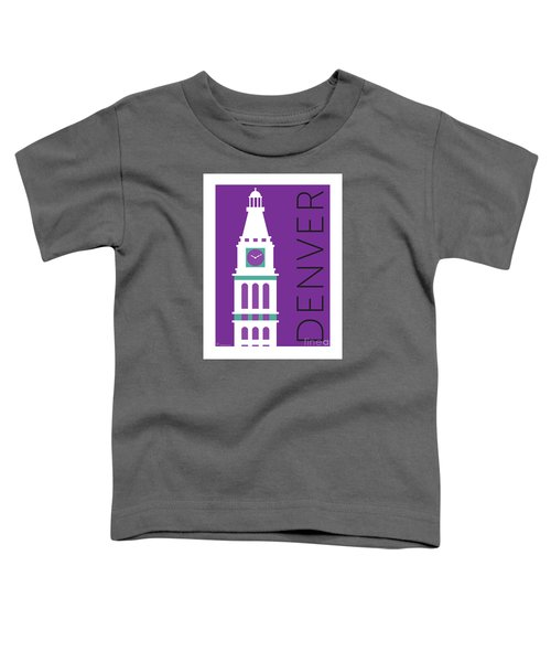 Denver D And F Tower/purple Toddler T-Shirt