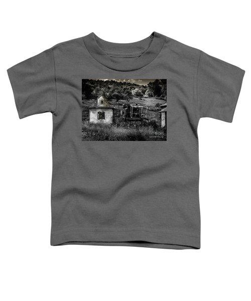 Derelict Farm, Transylvania Toddler T-Shirt